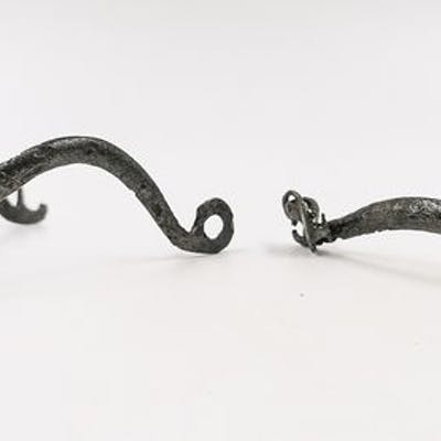 Medieval Crusaders Era Iron Cavalry / Equestrian Spurs