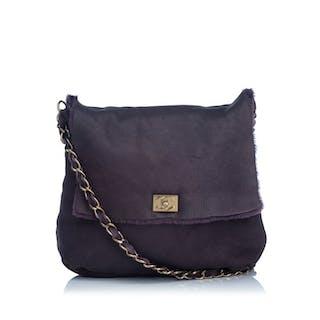 7d4af38e4 Chanel - Leather Shoulder Bag Shoulder Bag