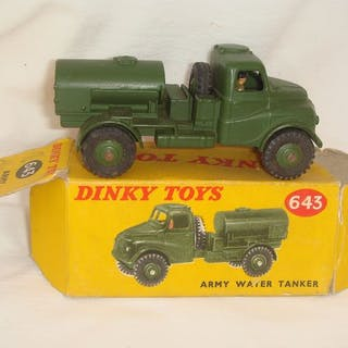 """Dinky Toys - 1:48 - First Issue British Army """"Austin""""..."""