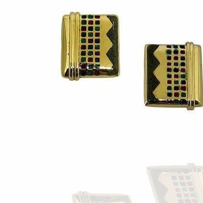 NOUVELLE BAGUE - 18 carati Oro, Oro giallo - Orecchini