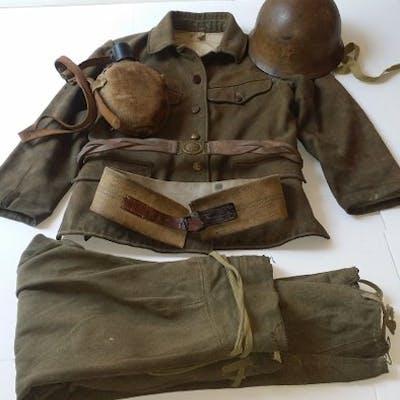 Japon - Armée/infanterie - Uniforme - 1943