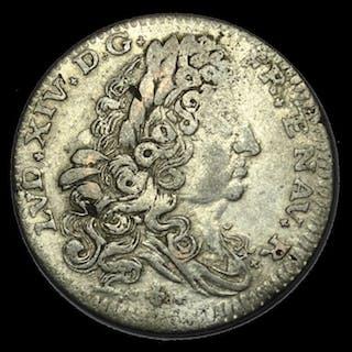 Italie - Duché de Modène et de Reggio - Lira 1705 - Louis XIV