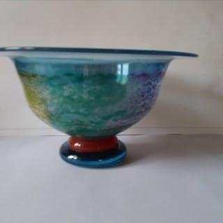 kjell engman - Kosta Boda - Bowl (1) - Stained glass
