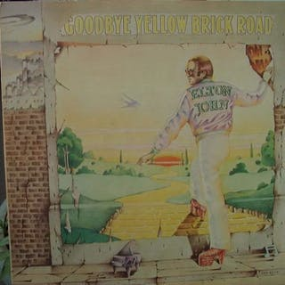 Elton John - goodbye yellow brick road - LP album - 1974/1974