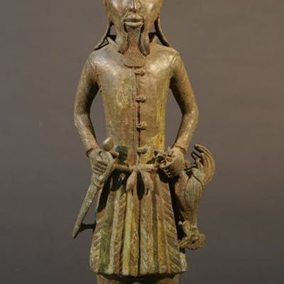 Sculpture - Bronze - Benin - Nigeria