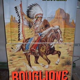 B. Napoli - Cirque Bouglione Fantaisie Western Indien...