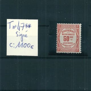 France 1908/1925 - Timbre-Taxe - Yvert n°47