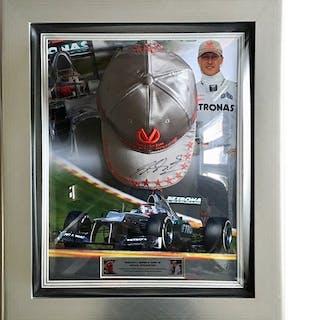 Signed Mercedes - Formula One - Michael Schumacher - 2012 - Autograph