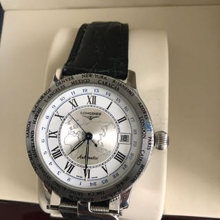 """Longines - LINDBERGH """" THE PIONEERS LIMITED EDITION""""..."""