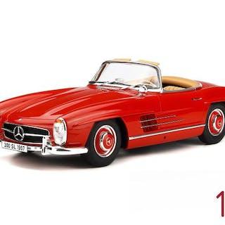 GT Spirit - 1:12 - Mercedes-Benz 300 SL (W198)- Limited 999 pcs - Color Red
