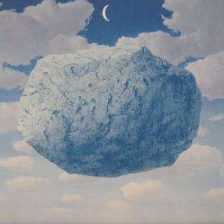 René Magritte- La Flêche de Zenon