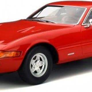 GT Spirit - 1:12 - Ferrari 365GTB/4 Daytona 1972- Limited 1500 pcs. - Color red