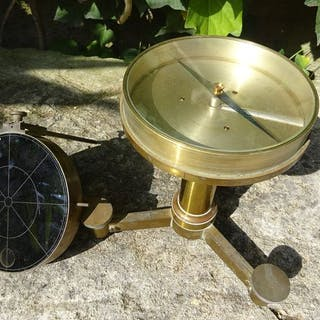Fineman Mirror Nephoscope - Laiton - Fin du XIXe siècle