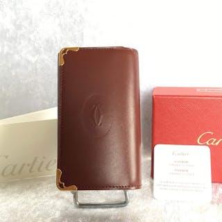 Must de Cartier Maroquinerie Luxe  porte clés 6 clés  Portefeuille