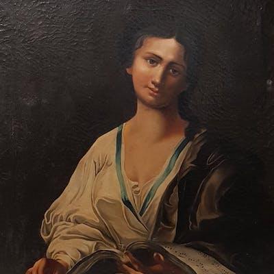 Anonimo. Scuola italiana XIX secolo  - La musicista