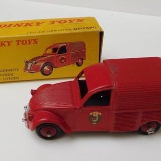 Dinky Toys - 1:43 - Citroën Fourgonnette 2 CV Pompier 25D