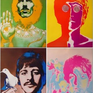 Richard Avedon - Beatles - 1968