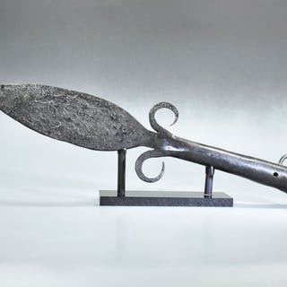 Post-medieval Iron Spear Head