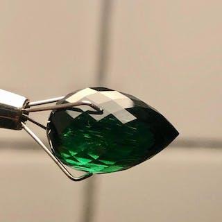 Deep Bluish Green Tourmaline - 10.67 ct