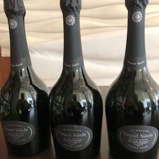 Laurent Perrier Grand Siecle- Champagne Brut - 3 Bottles (0.75L)
