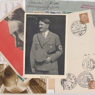 Deutsches Reich 1904/1943 - Dt.Reich + Gebiete Partie...