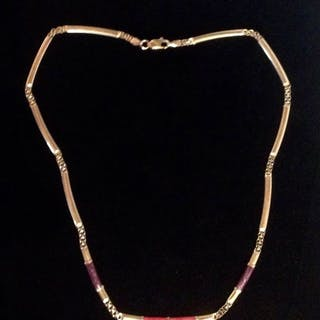 H. Samuel - 18 kt. Yellow gold - Necklace with pendant