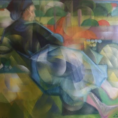 Daniel Schinasi - Figura nei campi