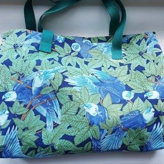 39e01ffcc1 Hermès - Les Perroquets Tote bag