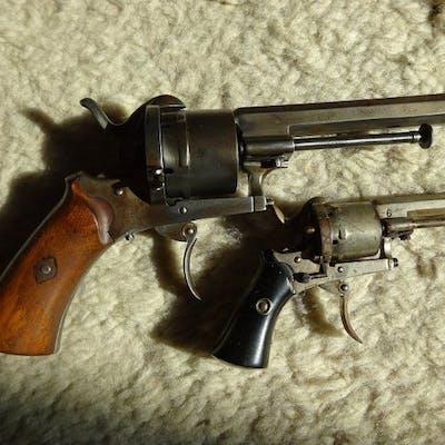 France - ELG - Combat - Broche (Lefaucheux) - Revolver - 9mm Cal