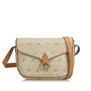e9900852e53d9 Dior - Honeycomb Coated Canvas Crossbody Bag Crossbody Bag