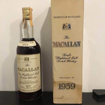 Macallan 1959 Rinaldi Import 80 Proof - Original bottling - b. 1980s - 75cl