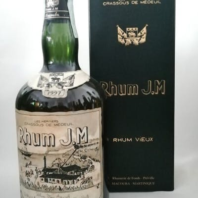 Rhum JM 1997 10 years old - rhum vieux - 70cl