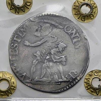 Italia - Granducato di Toscana - Ferdinando II, Lira 1635 - Argento