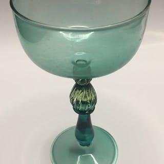 Davide Fuin - 1990 Calice Murano  (1) - Vetro (vetro colorato)