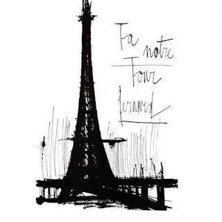 Bernard Buffet (d'après) - La Tour Eiffel