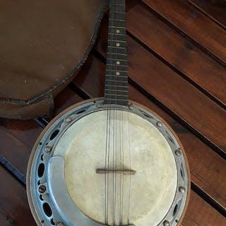 antico - banjo  a 8 corde  - Italia