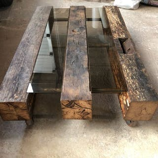 Saillant.Q - Industrial Look - Coffee table - Modern