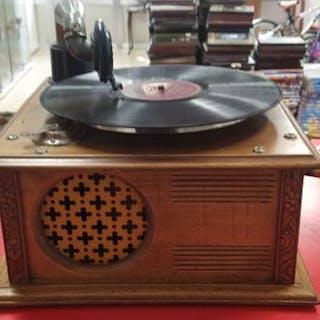 Desconocida - Gramola ORIGINAL - 78 rpm Grammophone player
