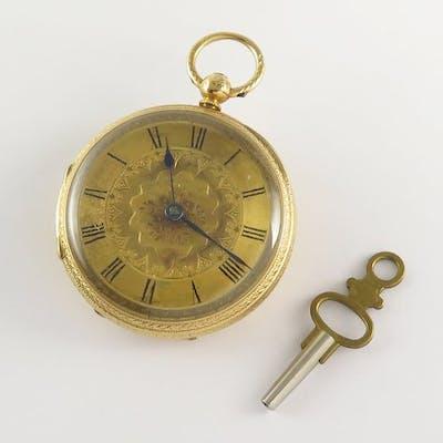 English Pocket watch- Unisex - 1850-1900