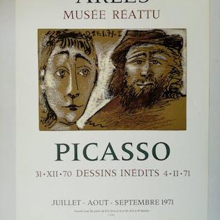 Pablo Picasso - Unveröffentlichte Zeichnungen - 1971