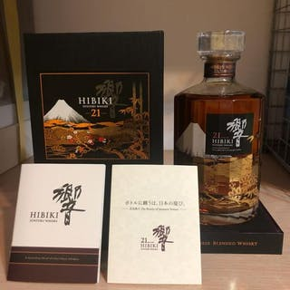 Hibiki 21 years old Kacho Fugetsu - one of 2000 bottles- 700ml
