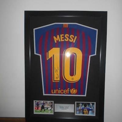 FC Barcelona - Campionato spagnolo di calcio - Lionel Messi - 2018 - Maglietta/e