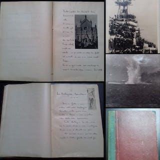 Vecchio. Libro manoscritto: Giornale di bordo - 1931