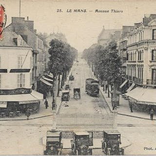 le mans 72 la sarthe, Divers - Cartes postales (Collection de 120) - 1910