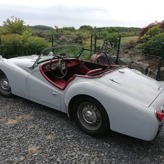 Triumph - TR3A - 1960