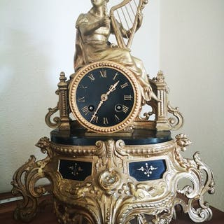 Reloj de sobremesa - Hierro (fundido/forjado)