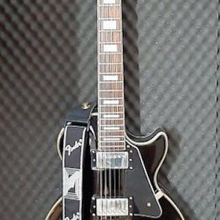 Epiphone - Les Paul Custom PRO Ebony - Electric guitar - Belgium