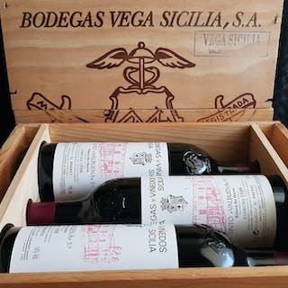 1998 Vega Sicilia Tinto Valbuena 5 - Ribera del Duero - 3 Botellas (0,75 L)