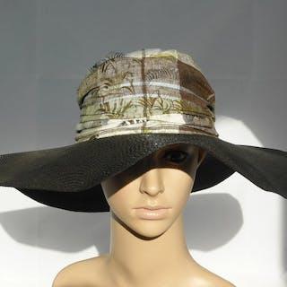 Borsalino - Jungle summer floreal banano floppy hat - Nuovo! Cappello