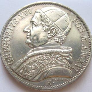 Italia - Stato Pontificio - Scudo ANN XVI 1846  Papa...